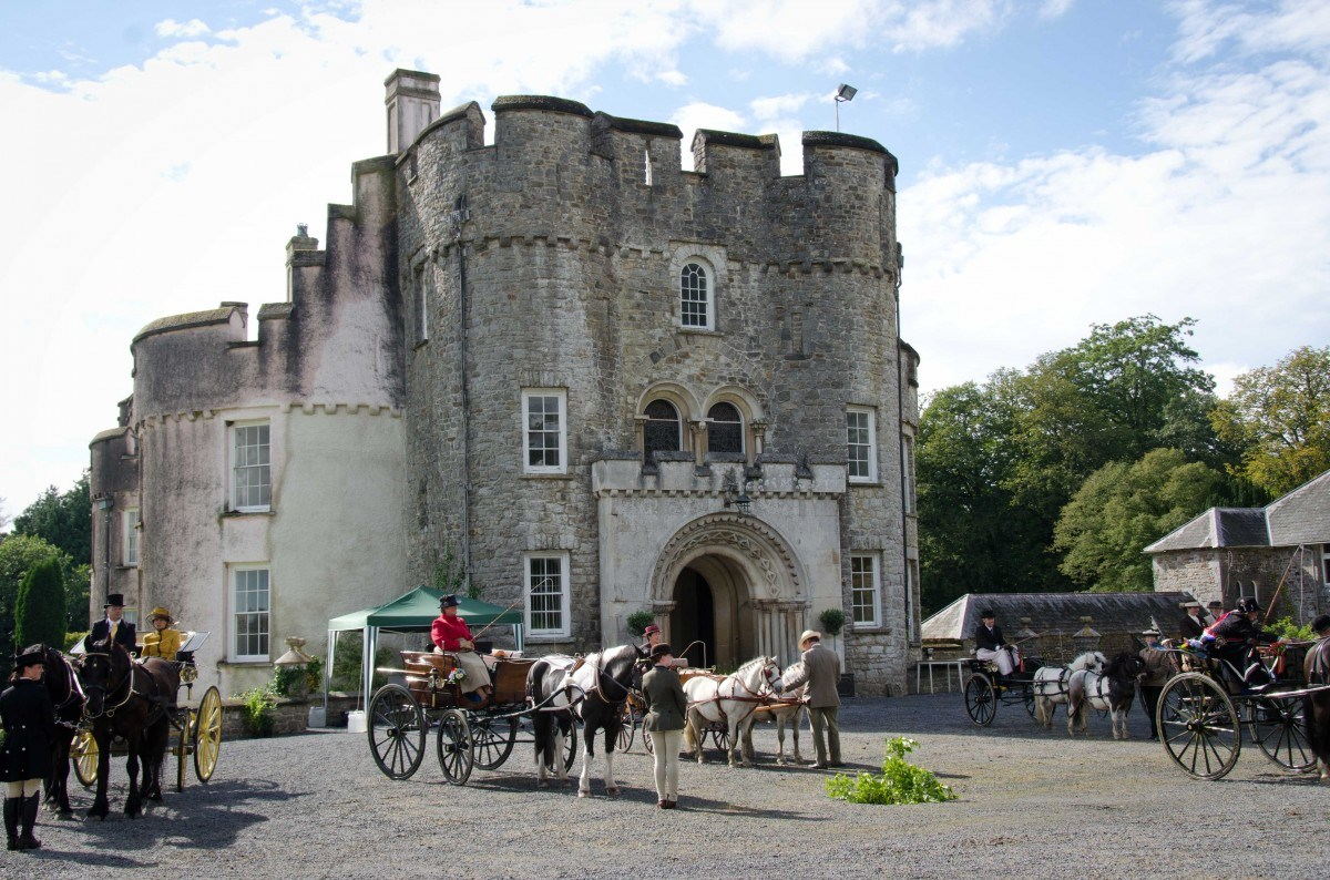Picton Castle in Pembrokeshire, Wales