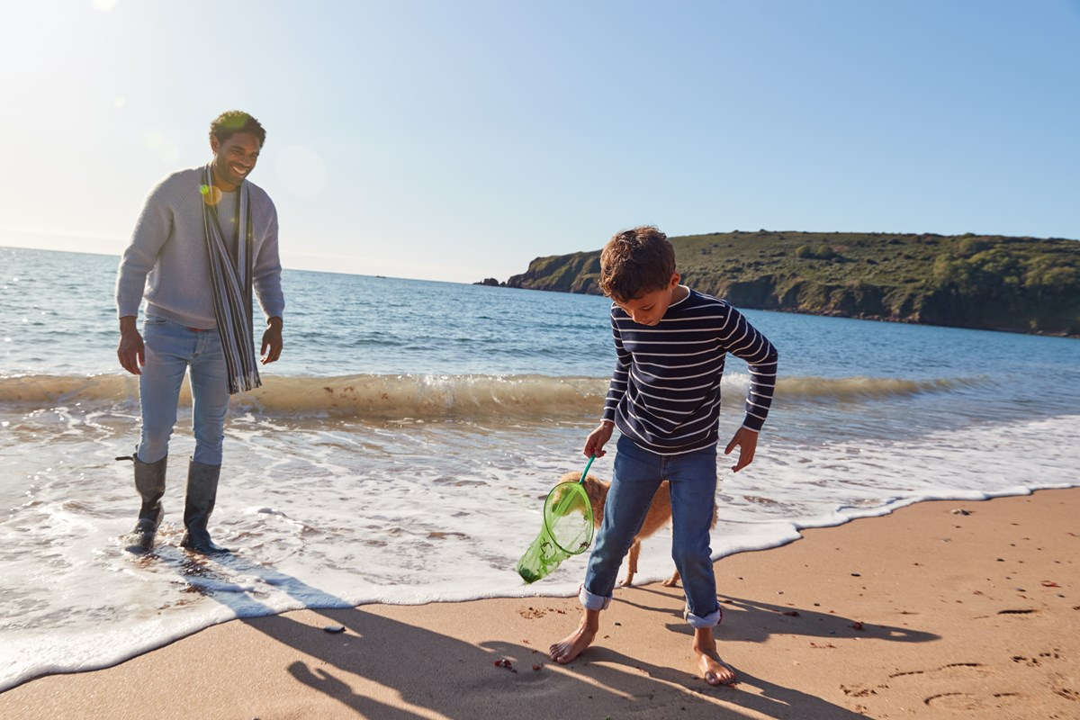 Child friendly holidays in Pembrokeshire, Wales